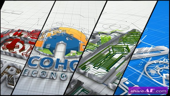Videohive Architect and Architecture Company Logo - After Effects Projects