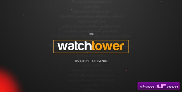 Videohive Watchtower - Cinematic Titles