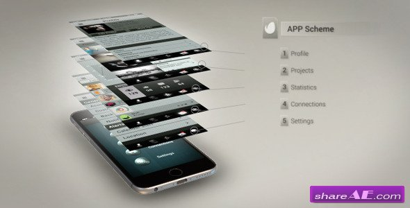 videohive promote your iphone 6 app » free after effects templates, Powerpoint templates