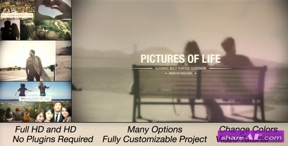 Videohive Pictures Of Life - Multi Purpose Slideshow