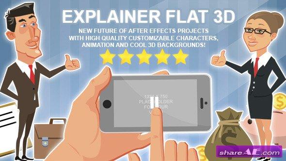 Videohive Explainer Flat 3D