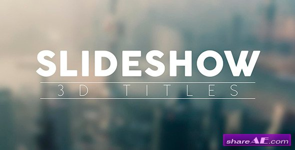 Elegant Titles And Transitions Slideshow - Videohive » free after
