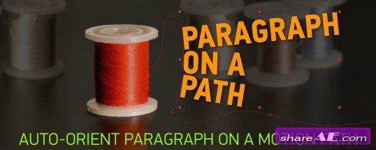 Paragraph On A Path (Aescripts)