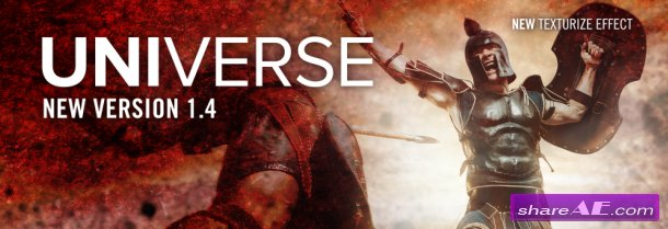 Red Giant Universe Premium V1.4.1 For AE, PR & OFX (WIN64)