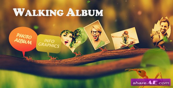 Videohive Walking Album