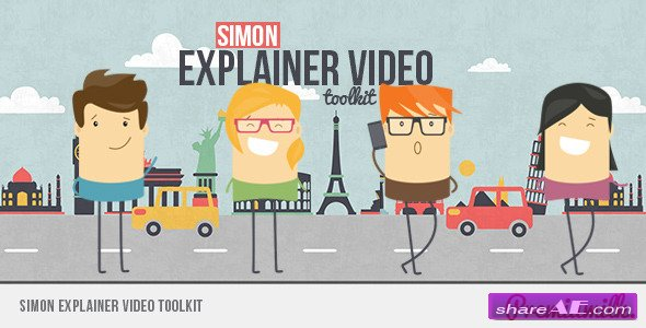 Videohive Simon Explainer Video Toolkit