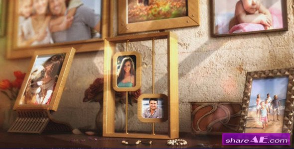 Videohive Happy Family Photo Album