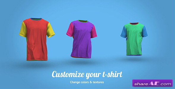 Videohive T-Shirt Walk