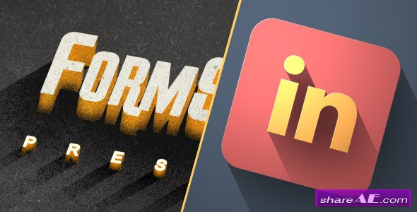 Videohive Long Shadow Titles & Logo Pack