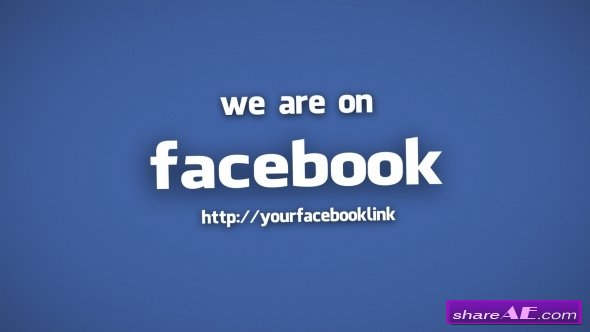 Videohive Link on Facebook