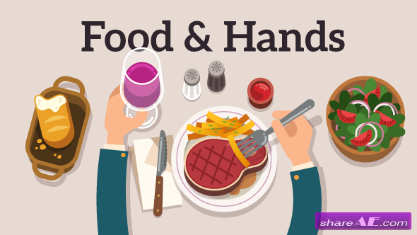 Videohive Food & Hands Explainer