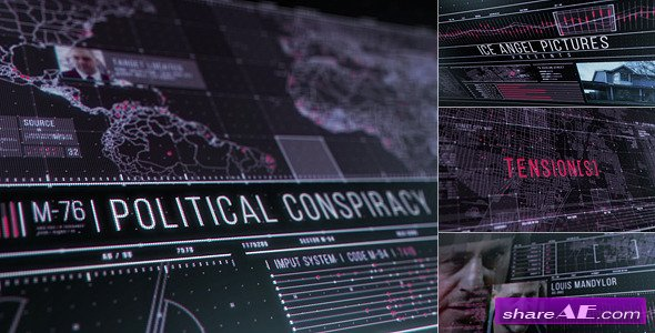Videohive Conspiracy Movie Trailer