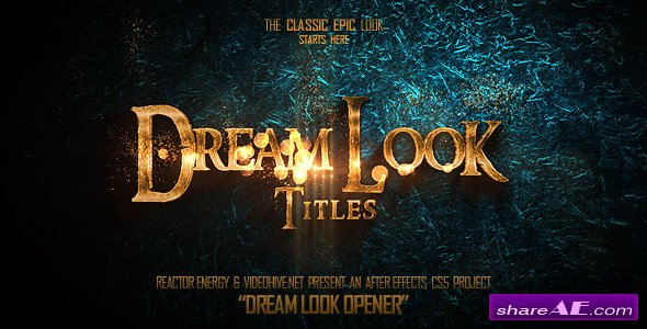 Videohive Dream Look Opener