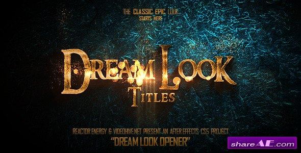 Videohive Dream Look Opener
