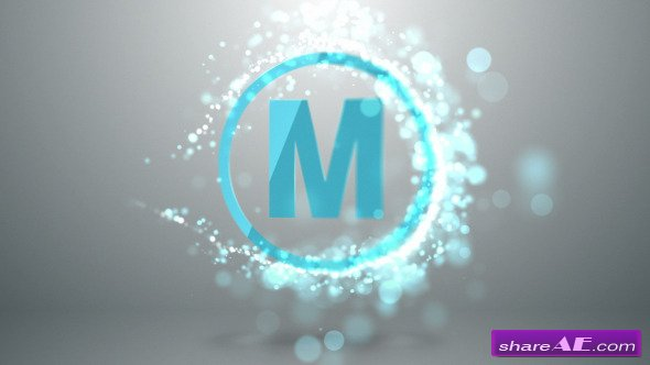 Quick particle logo after effects projects motion array for Free after effects logo templates