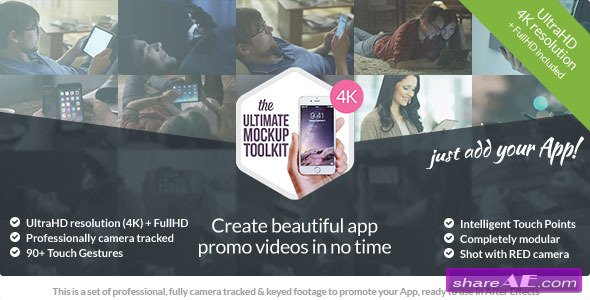 Videohive The Ultimate App Mockup Toolkit