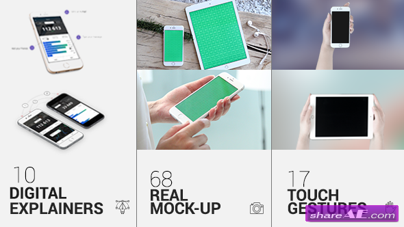 Videohive iTouch 2 | App Mock-Up Kit