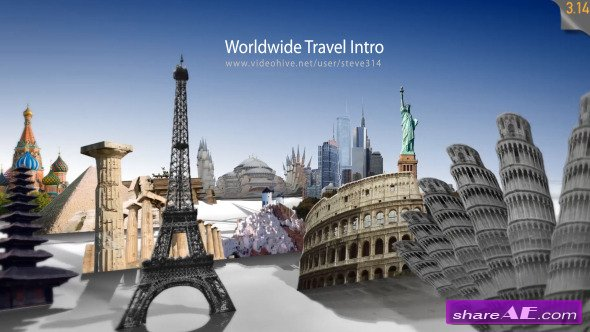 Videohive Worldwide Travel Intro / Show
