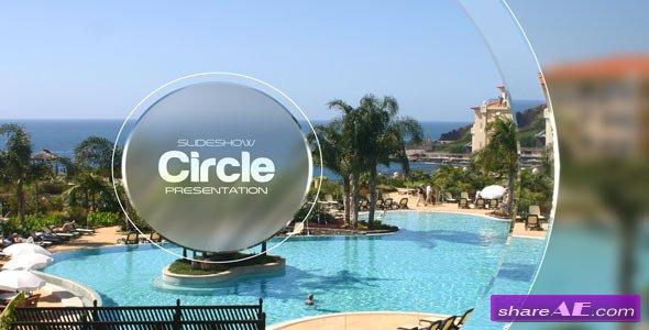 Videohive Circle Slideshow Presentation