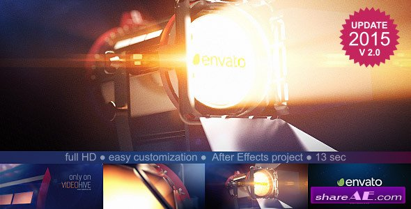 Film Light Logo Reveal - After Effects Project (Videohive)
