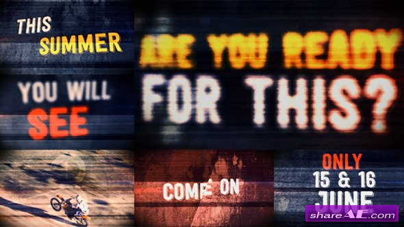 Videohive The Grunge Promo