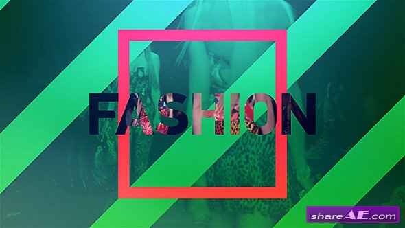 Videohive Fast Fashion Opener