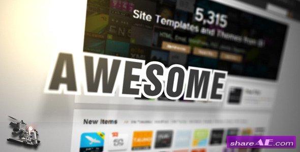 Videohive Website/Webpage/Wordpress Promotion