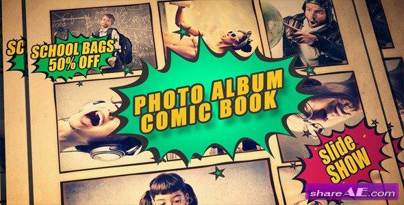 Videohive Photo Album Comic Book
