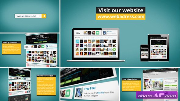 Videohive Dynamic Website Promotion