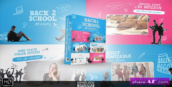 Videohive Back 2 School After Party