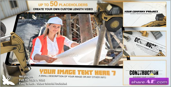 Videohive Construction Site Presentation