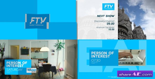 Videohive Broadcast Pack 2 » free after effects templates
