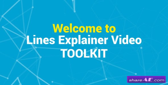 Videohive Lines Explainer Video Toolkit