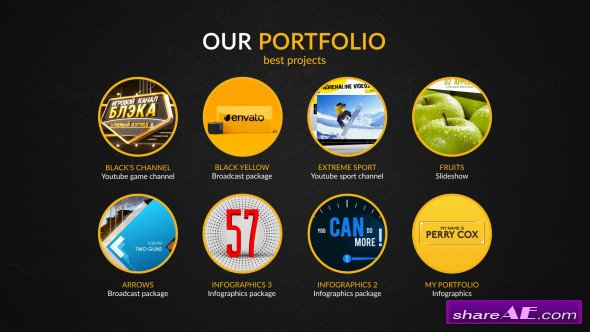 Videohive Advertising Agency Infographics