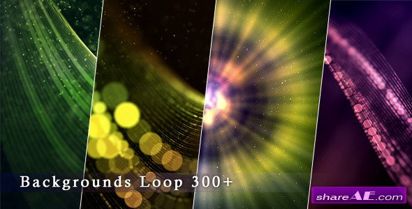 Videohive Backgrounds Form Loop 300+