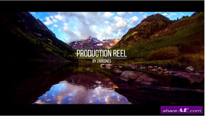 Production Reel - After Effects Projects (Motion Array)