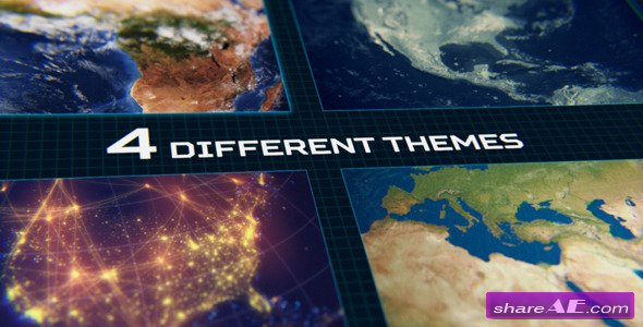 Videohive Ultimate Animated Earth Toolkit - After Effects Templates
