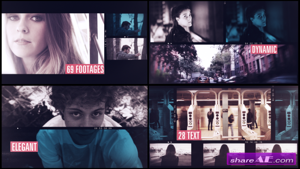 Videohive Parallax Video Slide