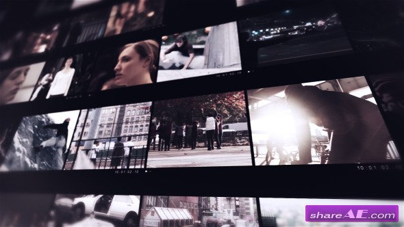 Videohive Modern Video Frame