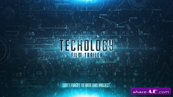Videohive Sky Technology Film Trailer
