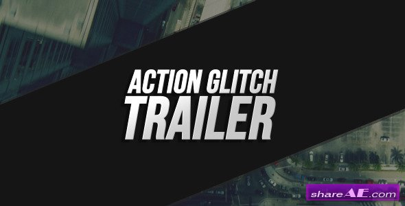Videohive Action Glitch Trailer
