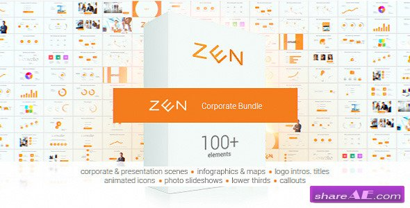 Videohive Zen Presentation Bundle