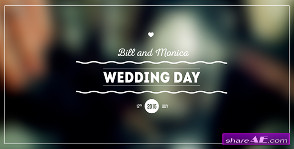 Videohive Wedding Titles Pack » free after effects templates