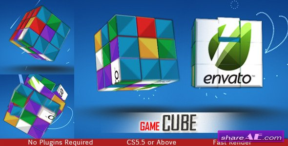 Videohive Game Cube