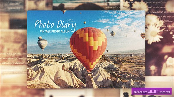 Videohive Photo Diary - After Effects Templates