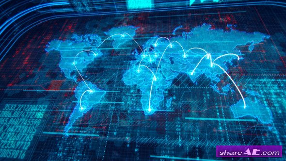 after effect motion graphics templates - videohive world map 10034657 motion graphic free after