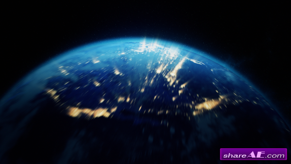 Videohive Earth Zoom 11662605 - Motion Graphic
