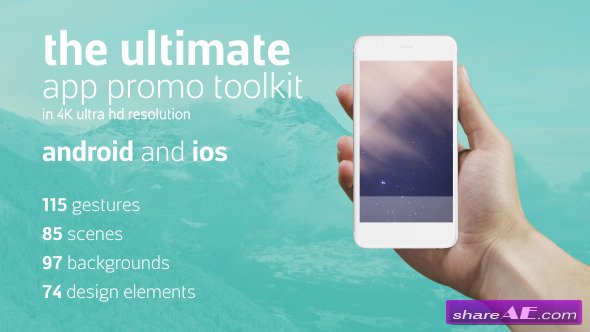 Videohive Ultimate App Promo Toolkit 11582439