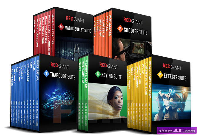 Red Giant All Suites + Guru Presets (Win/Mac) July 2015