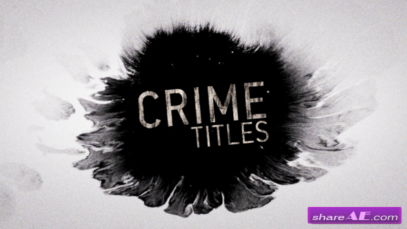 Videohive Crime Titles